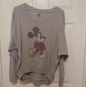 Mickey mouse long sleeve blouse